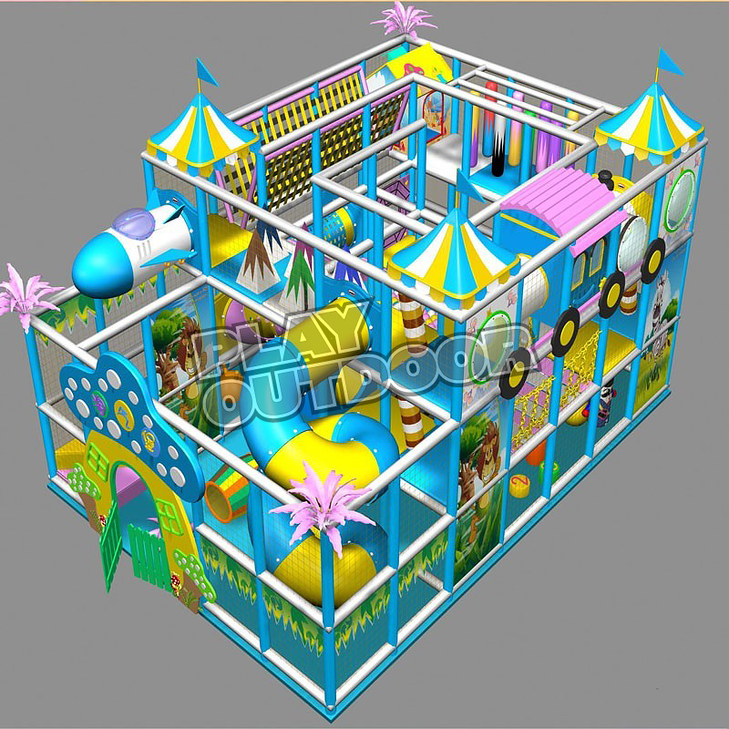 Indoor Play Gyms BY-012