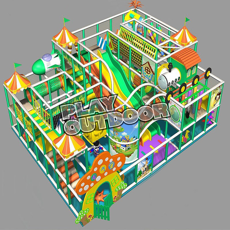 Indoor Play Gyms BY014