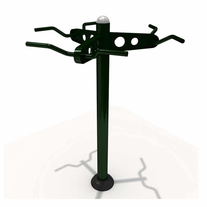 Triple Chin up Station | PO-FE0016 | Outdoor Fitness