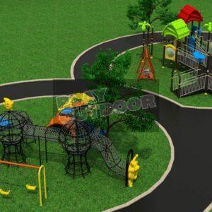 Special Needs and Active Kids Jungle-Gym